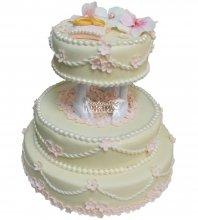 №320 Свадебный торт классический