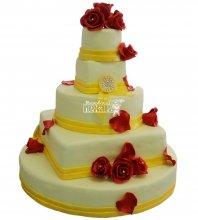 №327 Свадебный торт классический