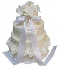 №309 Свадебный торт классический