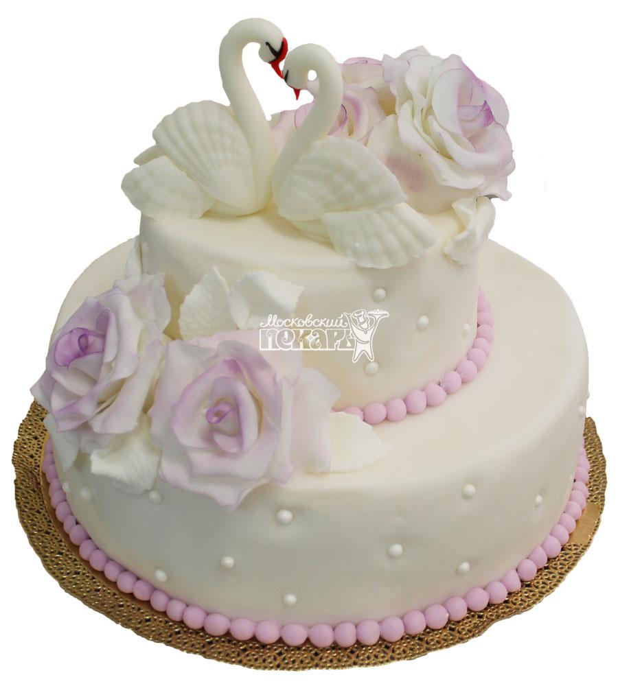 №272 Свадебный торт классический