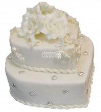 №271 Свадебный торт классический