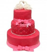 №248 Свадебный торт классический