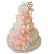 №300 Свадебный торт классический