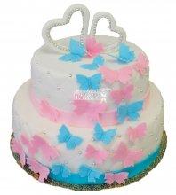 №250 Свадебный торт классический