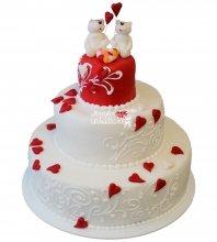 №252 Свадебный торт классический