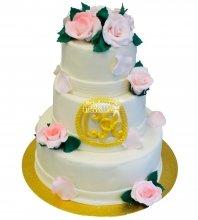 №297 Свадебный торт классический