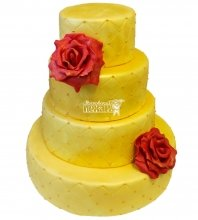 №234 Свадебный торт классический