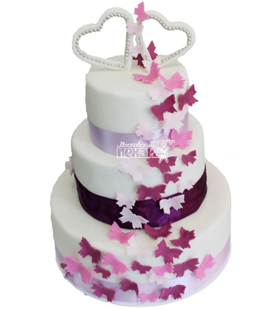 №268 Свадебный торт классический
