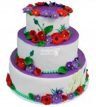 №324 Свадебный торт классический