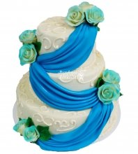 №336 Свадебный торт классический