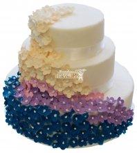 №239 Свадебный торт классический