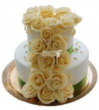 №322 Свадебный торт классический