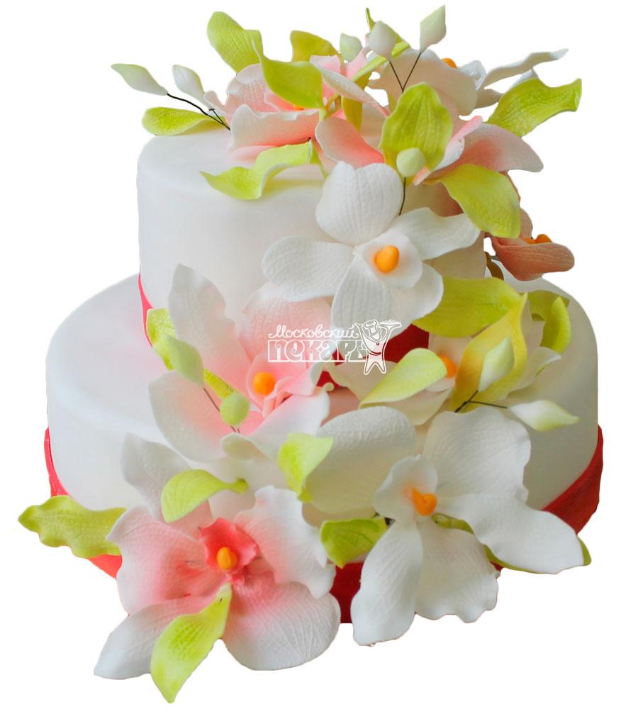 №249 Свадебный торт классический