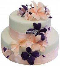 №291 Свадебный торт классический