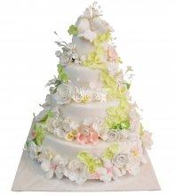№273 Свадебный торт классический