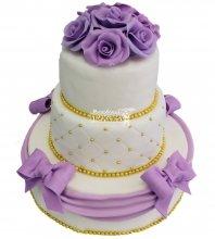 №295 Свадебный торт классический