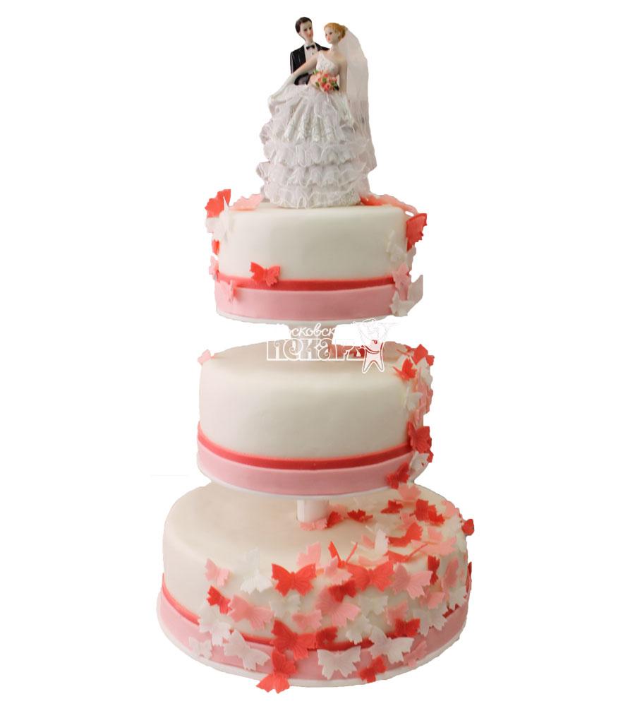 №274 Свадебный торт классический