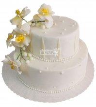 №292 Свадебный торт классический