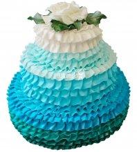 №226 Свадебный торт классический
