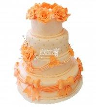 №286 Свадебный торт классический