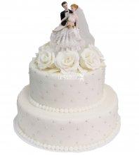 №332 Свадебный торт классический