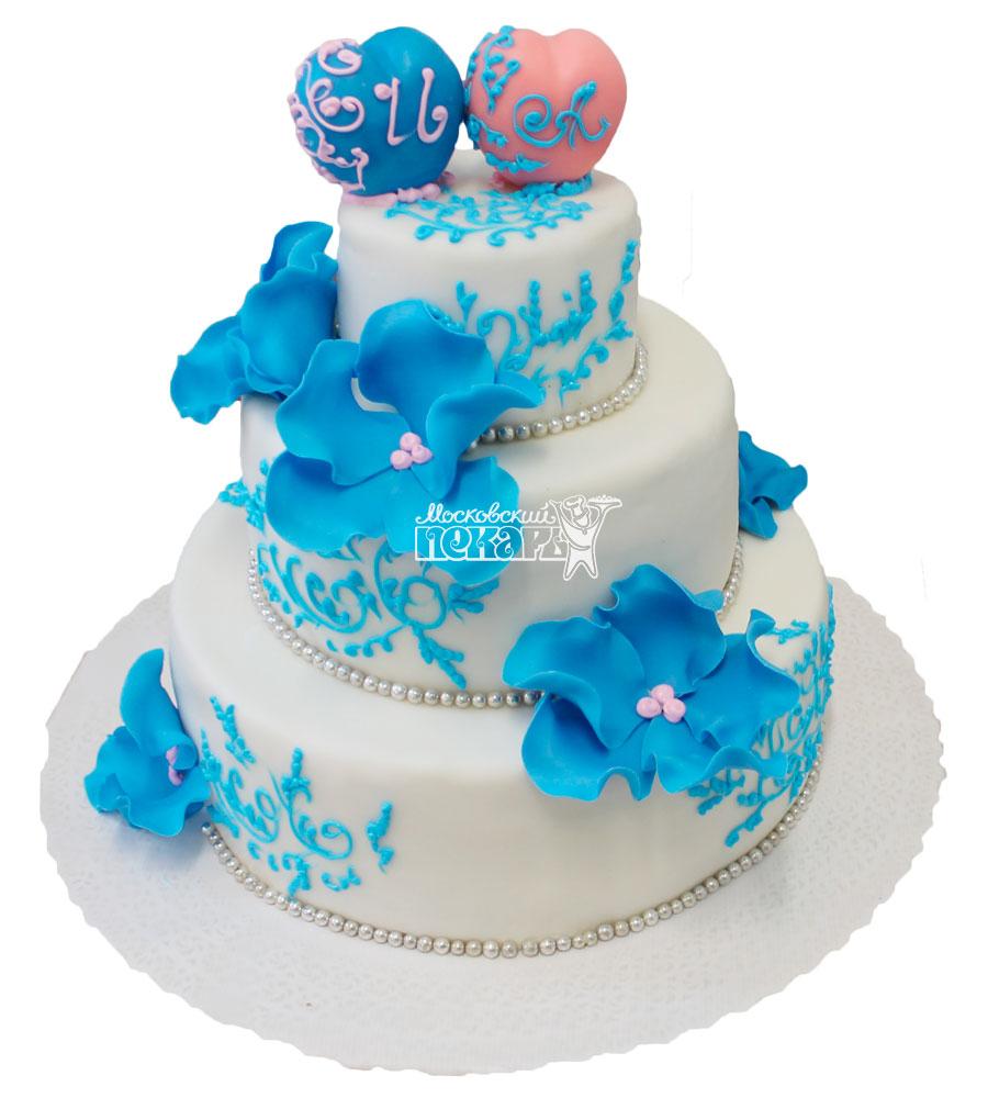 №307 Свадебный торт классический