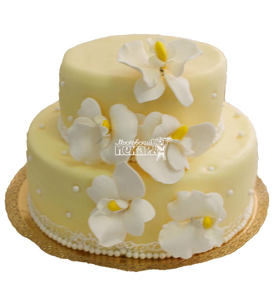 №301 Свадебный торт классический