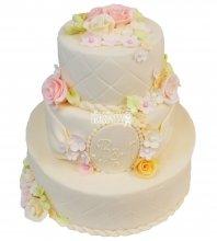 №306 Свадебный торт классический