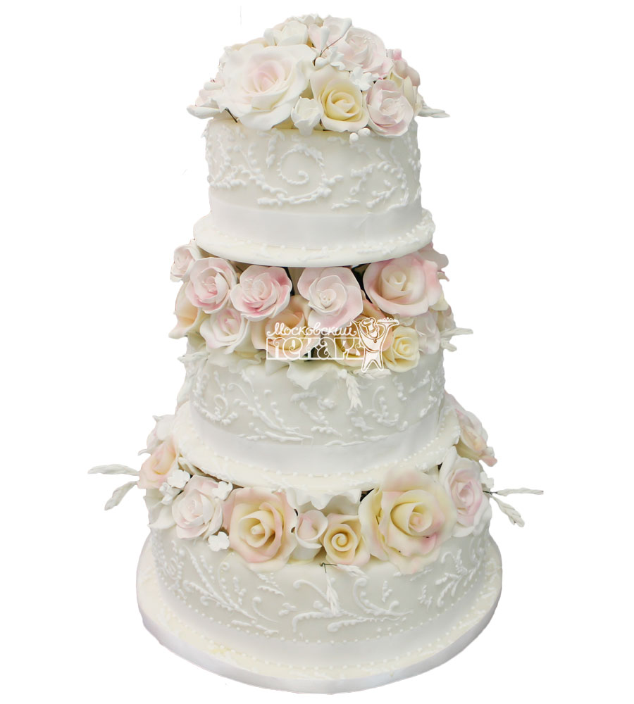 №276 Свадебный торт классический