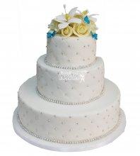 №236 Свадебный торт классический