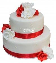 №344 Свадебный торт классический