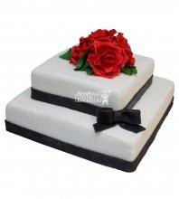 №222 Свадебный торт классический