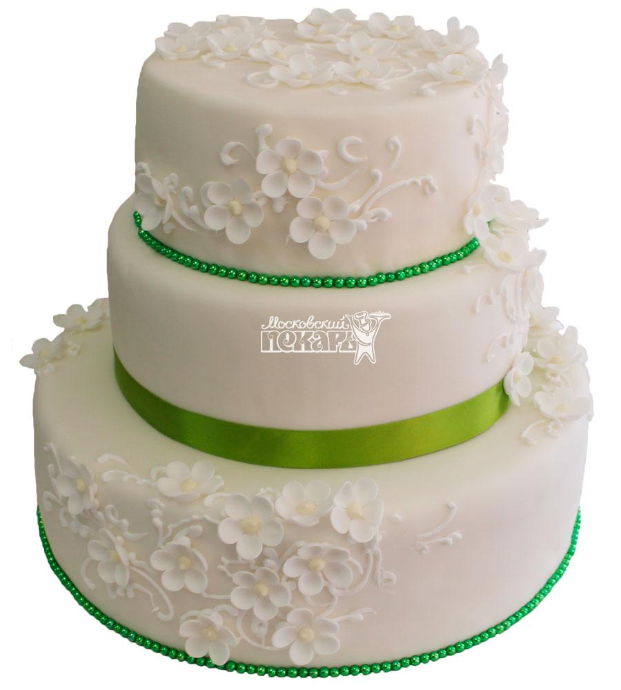 №288 Свадебный торт классический