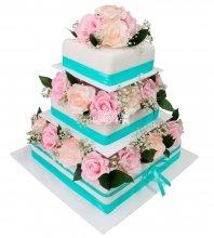 №275 Свадебный торт классический