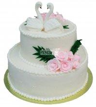 №289 Свадебный торт классический