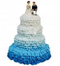 №265 Свадебный торт классический