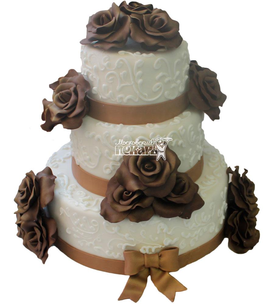 №311 Свадебный торт классический
