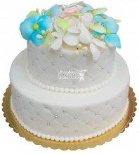 №242 Свадебный торт классический