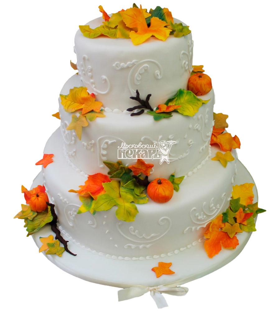 №253 Свадебный торт классический