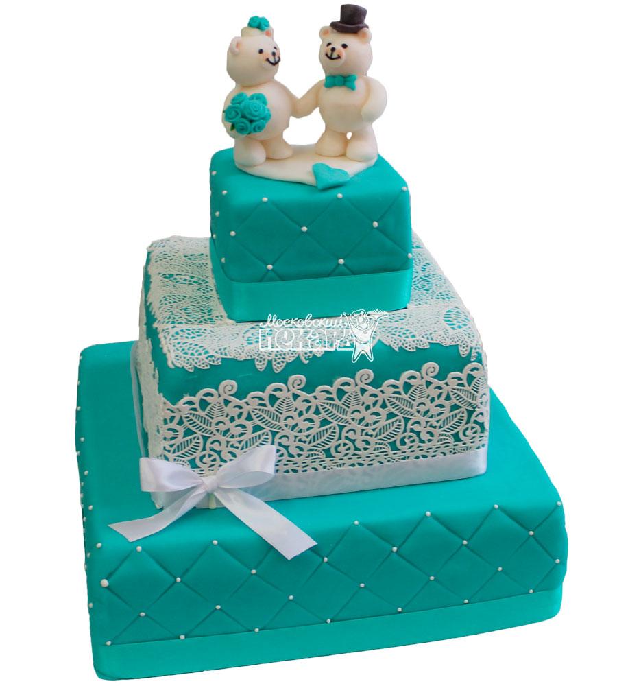 №213 Свадебный торт классический