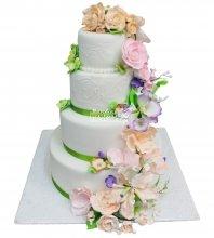 №325 Свадебный торт классический