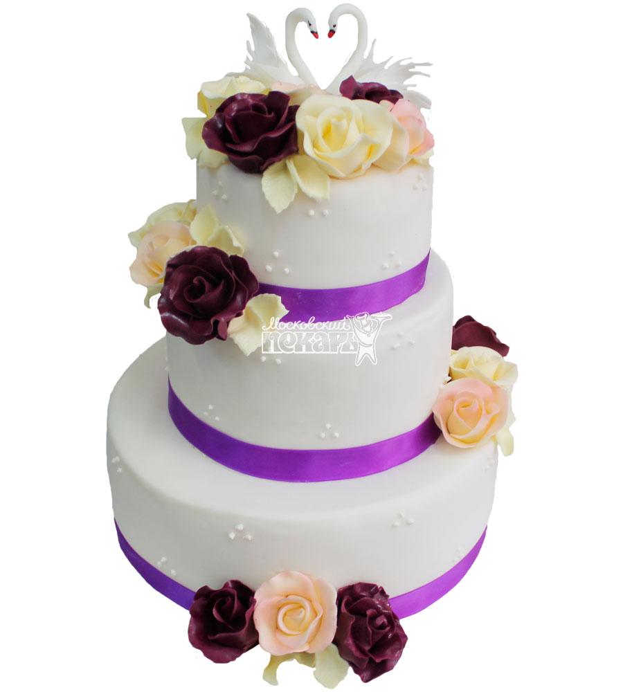 №256 Свадебный торт классический