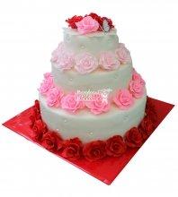№337 Свадебный торт классический