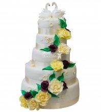 №227 Свадебный торт классический