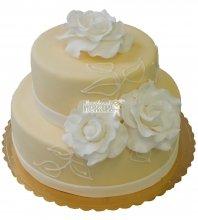 №331 Свадебный торт классический