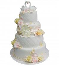 №246 Свадебный торт классический