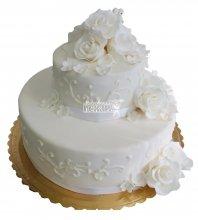 №341 Свадебный торт классический