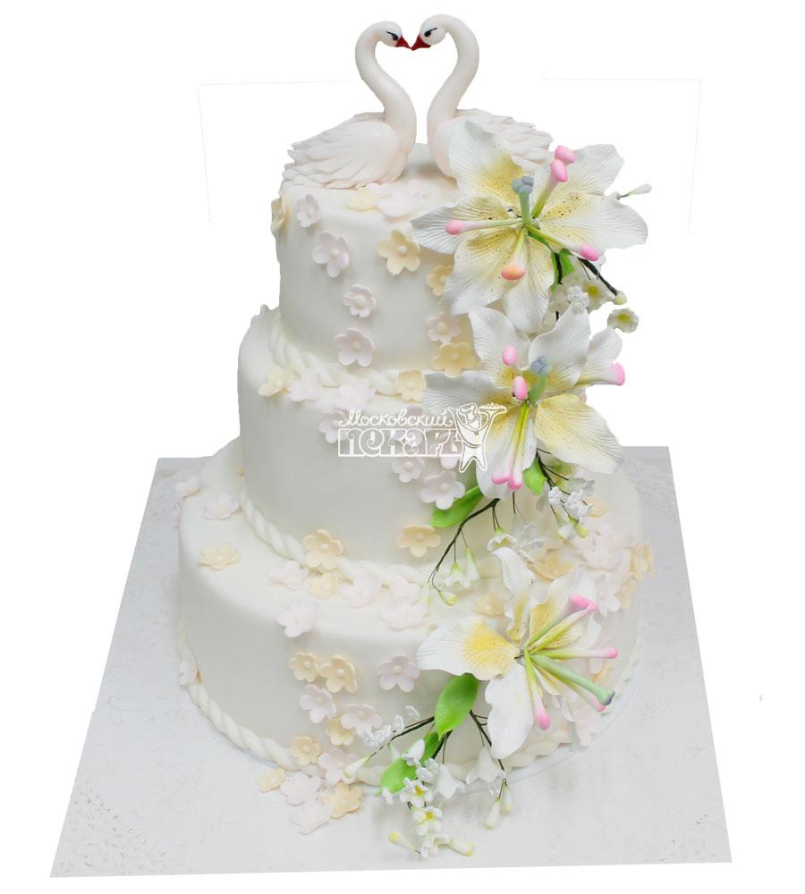 №317 Свадебный торт классический