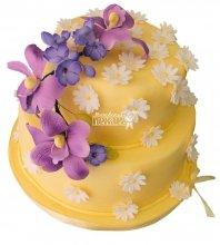 №281 Свадебный торт классический