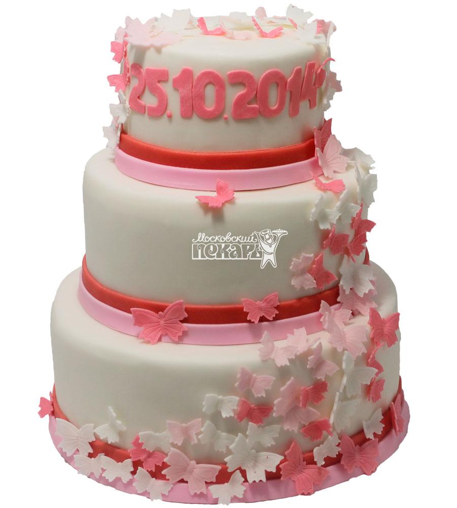 №233 Свадебный торт классический
